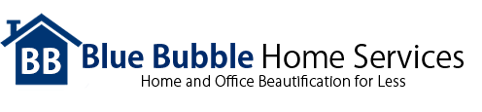 Logo, Blue Bubble Home Services - Cleaning Services